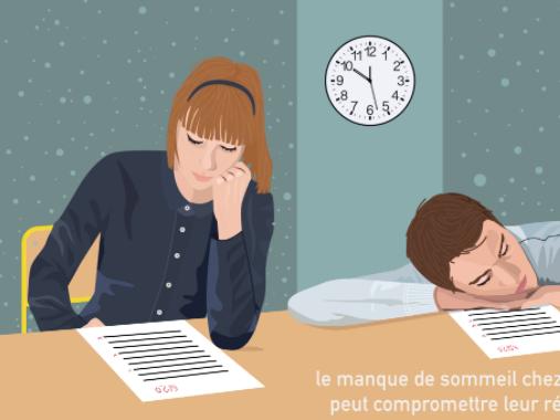 Sommeil Ado. Source : http://presse.inserm.fr/le-manque-de-sommeil-altere-le-cerveau-des-ados/27478/